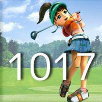 女子ゴルフTVキャプの跡1017