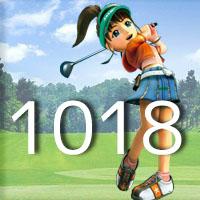 女子ゴルフTVキャプの跡1018