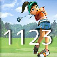 女子ゴルフTVキャプの跡1123