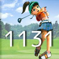 女子ゴルフTVキャプの跡1131