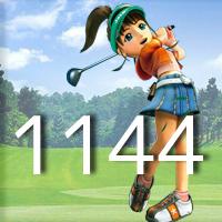 女子ゴルフTVキャプの跡1144