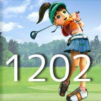 女子ゴルフTVキャプの跡1202