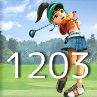 女子ゴルフTVキャプの跡1203