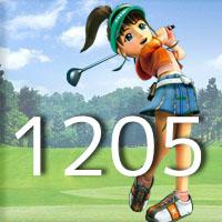 女子ゴルフTVキャプの跡1205