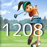 女子ゴルフTVキャプの跡1208