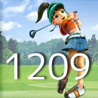 女子ゴルフTVキャプの跡1209
