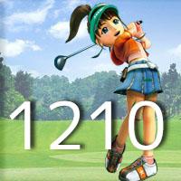 女子ゴルフTVキャプの跡1210