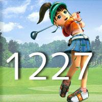 女子ゴルフTVキャプの跡1227