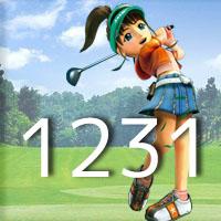 女子ゴルフTVキャプの跡1231
