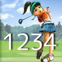 女子ゴルフTVキャプの跡1234