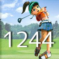女子ゴルフTVキャプの跡1244