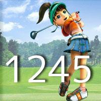 女子ゴルフTVキャプの跡1245