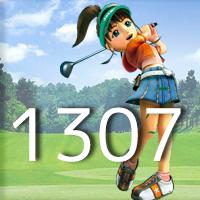 女子ゴルフTVキャプの跡1307