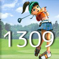 女子ゴルフTVキャプの跡1309