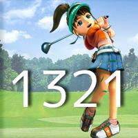 女子ゴルフTVキャプの跡1321
