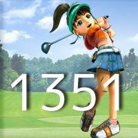 女子ゴルフTVキャプの跡1351