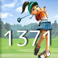 女子ゴルフTVキャプの跡1371