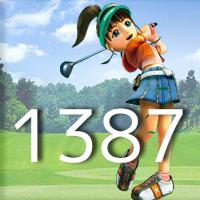 女子ゴルフTVキャプの跡1387