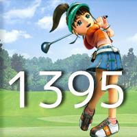 女子ゴルフTVキャプの跡1395