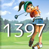 女子ゴルフTVキャプの跡1397