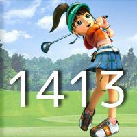 女子ゴルフTVキャプの跡1413