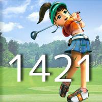 女子ゴルフTVキャプの跡1421