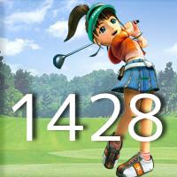女子ゴルフTVキャプの跡1428