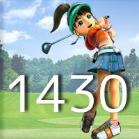 女子ゴルフTVキャプの跡1430