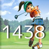 女子ゴルフTVキャプの跡1438