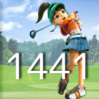 女子ゴルフTVキャプの跡1441