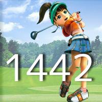 女子ゴルフTVキャプの跡1442