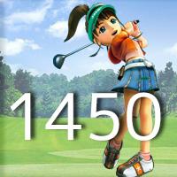 女子ゴルフTVキャプの跡1450