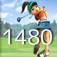 女子ゴルフTVキャプの跡1480