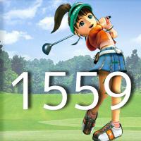 女子ゴルフTVキャプの跡1559