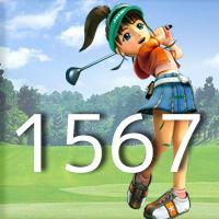 女子ゴルフTVキャプの跡1567