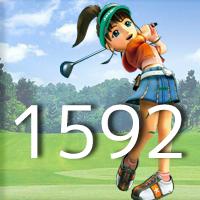 女子ゴルフTVキャプの跡1592