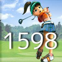 女子ゴルフTVキャプの跡1598