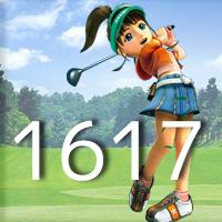 女子ゴルフTVキャプの跡1617