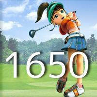 女子ゴルフTVキャプの跡1650
