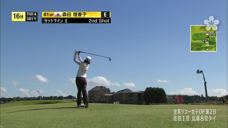 森田理香子 全英リコー女子オープン
