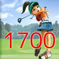 女子ゴルフTVキャプの跡1700