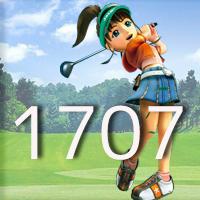 女子ゴルフTVキャプの跡1707