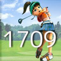 女子ゴルフTVキャプの跡1709