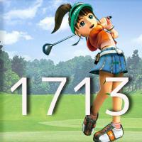 女子ゴルフTVキャプの跡1713