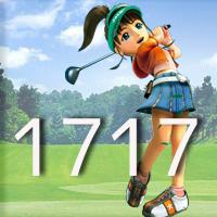 女子ゴルフTVキャプの跡1717