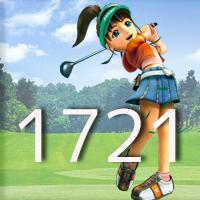 女子ゴルフTVキャプの跡1721