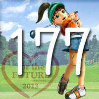 女子ゴルフTVキャプの跡177