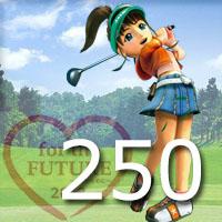 女子ゴルフTVキャプの跡250