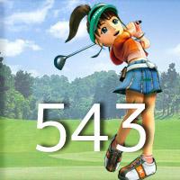 女子ゴルフTVキャプの跡543