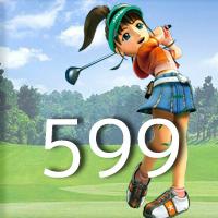 女子ゴルフTVキャプの跡599